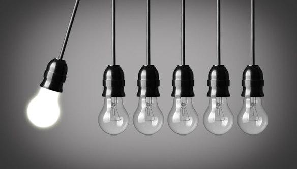 light bulb leadership